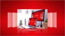 【动画】高雅大气中国风红色模板示例4