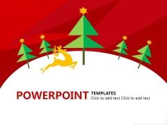 圣诞元旦双节大促PPT模板1