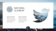 【超美画报】灰蓝自然杂志风模板3.0示例5
