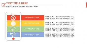 红色 高端商务 配色明快 年终总结扁平化模板示例4
