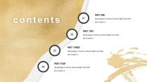 素白铂金系列2-商务总结策划提案通用模板示例3