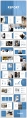 【欧美简约】创意蓝色图文混排现代商务汇报工作总结模示例3