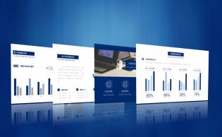 財務銷售經營計劃及預算可編輯圖表分析報告模版