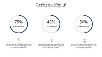【精致商务】现代简约商务演示模板示例5