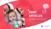 母婴用品PPT模板