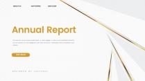 【现代简约】金色抽象创意商务汇报工作计划模板