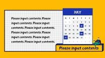 【卡通几何风】多彩年度工作汇报PPT模板示例7