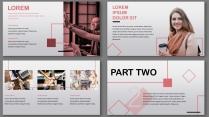 畫冊級粉紅商務模板【簡潔實用PPT模板41】示例4