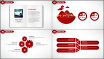大气红色拉链创意企业介绍工作汇报PPT模板示例3