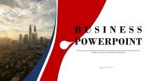 【红色商务】红蓝双色大气高端企业商务计划年终报告p