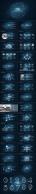 【星空-动态】现代商务总结汇报模板01示例8