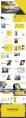 (31)黄色都市简约时尚商务PPT模板示例8