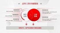 【党建】红色简约大气党建风工作总结模板6示例7
