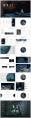 【水烟词话】古典中国风PPT模板(4套合集)示例6