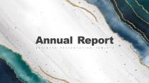 【抽象藝術】現代商務匯報工作計劃計劃書總結報告模板