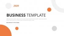 简约商务企业年终总结汇报PPT模板
