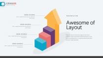 25页精致创业年终总结工作汇报keynote图表示例5