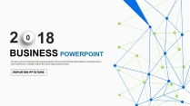 【联结未来】点线面科技商务工作总结汇报PPT