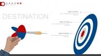 红蓝稳重配色年终总结工作汇报PPT图表02示例7