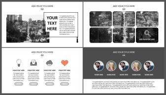 网页风格·欧美·简约·大气商务模板示例3