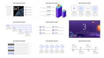 科技风智慧城市AI人工智能物联网信息互联网+示例4