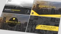 黄色大气工作报告模板合集(6)【4套共100页】