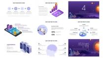 科技风智慧城市AI人工智能物联网信息互联网+示例5