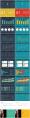[兩種配色]Excel可編輯商業圖表第二季示例8