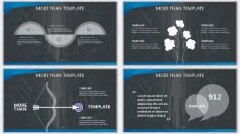 欧美杂志排版简洁高端实用PPT模板23示例6