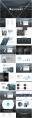 【合集】黑白质感杂志风大气通用模板合集(含四套)示例4