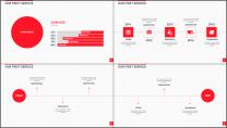 大气美观红色企业公司工作总结PPT模板二示例4