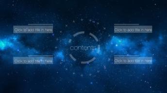 【动态 大气 商务】唯美星空超实用IOS风格系列2示例3