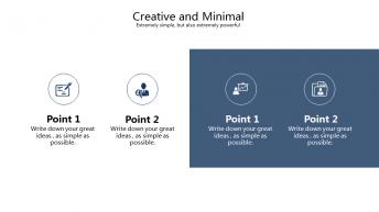【精致商务】现代简约商务演示模板示例6