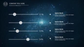 【星空-动态】现代商务总结汇报模板01示例4