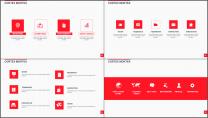 大气美观红色企业公司工作总结PPT模板二示例5