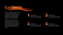 【红色火焰】酷炫大气渐变烟火年终总结报告模版示例3