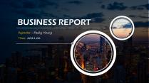 【欧美风格】高端实用商业总结报告模板