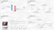 【Keynote】微立体多彩商务模板(4套配色)示例6