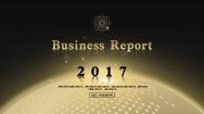 【日出东方】黑金大气商务报告公司简介模板