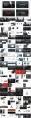 【合集】黑白质感杂志风大气通用模板合集(含四套)示例7