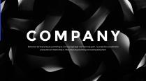 【正式】高端黑商務企業介紹提案ppt模板03