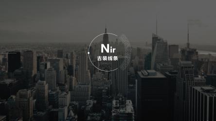 【【高端大气上档次】扁平化极简展示型专业通用模板
