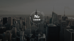 【高端大气上档次】扁平化极简展示型专业通用模板