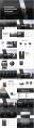 【合集】黑白质感杂志风大气通用模板合集(含四套)示例3