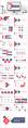 紅藍簡雅03—高端工作總結計劃商務PPT示例4