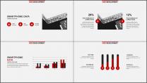 红色杂志风精致排版PPT模板示例3