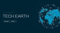 【智慧城市】大数据科技互联网品牌推介PPT第二套