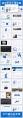 蓝色插画风极简年终商务汇报PPT模板示例8