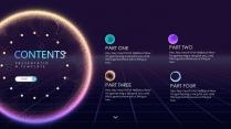 【炫彩粒子】演讲创意视觉大气 品牌推广科技智慧模版示例6