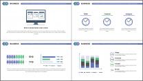 【商務大咖】簡約科技互聯網公司企業工作匯報PPT示例3